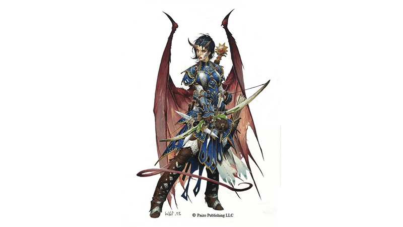 Cambion Champion for Fifth Edition Dungeons & Dragons