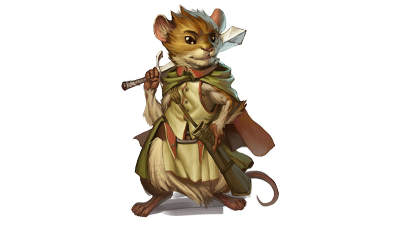 Laicosts (Mousefolk) for Fifth Edition Dungeons & Dragons