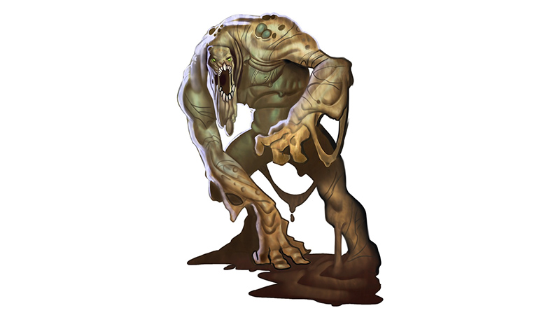Mudmen for Dungeons & Dragons Fifth Edition
