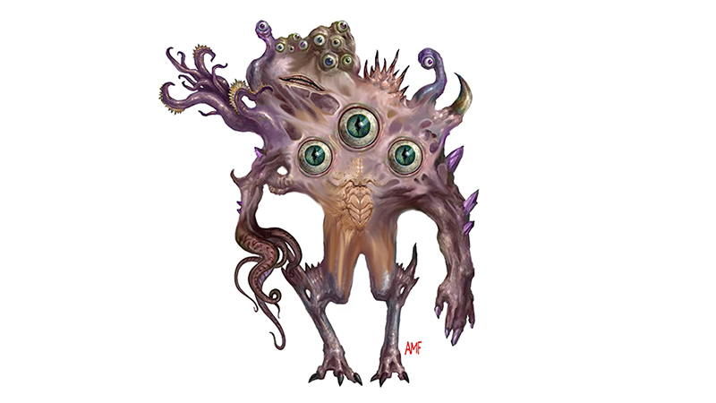 Beholder, Abretheghals | New Monster for Dungeons & Dragons Fifth Edition