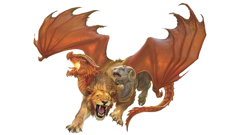 Chimera Variants for Dungeons & Dragons Fifth Edition (Over 2,000 Variants)