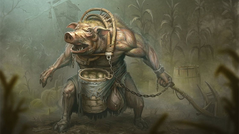 Pigpeople for Dungeons & Dragons Fifth Edition