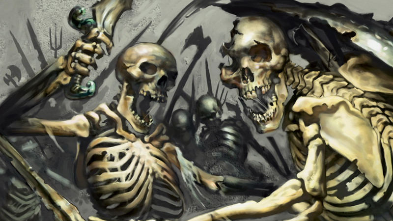 Skeleton Template for Dungeons & Dragons Fifth Edition