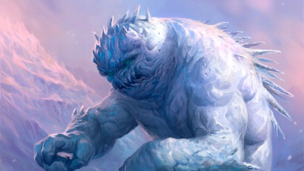 Snow Para-elementals | Monsters for Dungeons & Dragons Fifth Edition