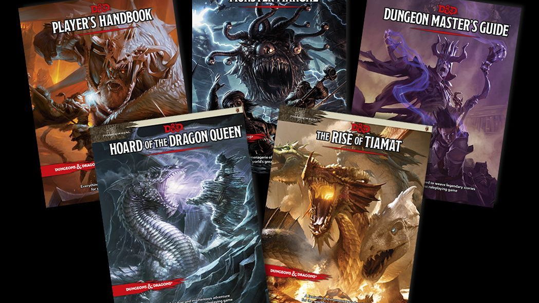 10 Favorite Dungeons & Dragons Fifth Edition Books