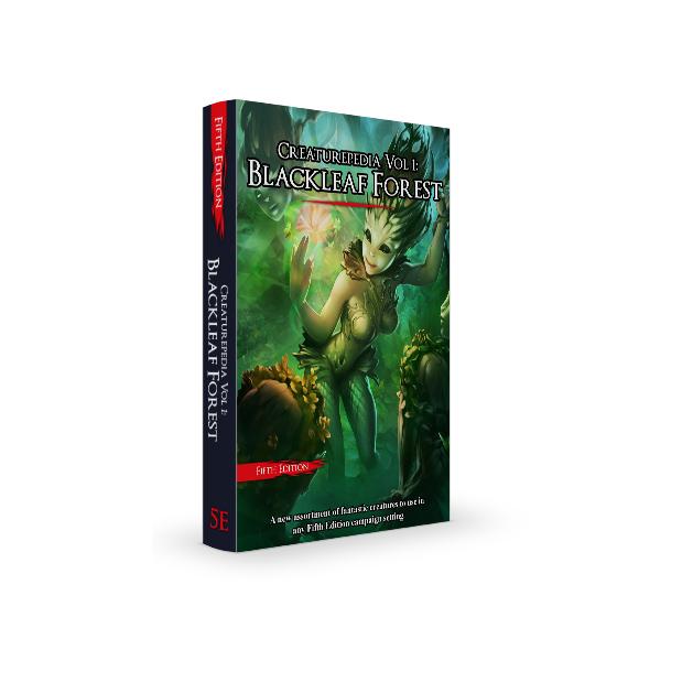 Creaturepedia Vol 1: Blackleaf Forest – NEW PDF Out Next Week!