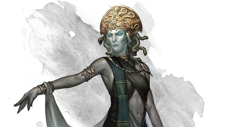 The Medusa Queen   New Challenge for Fifth Edition
