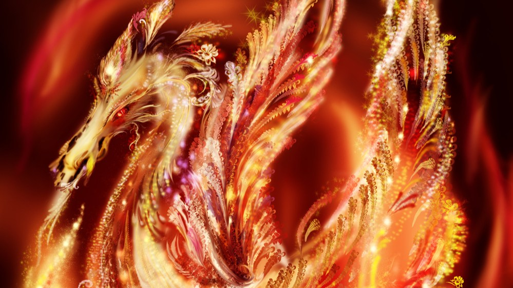 Phoenix Dragon | New Monster for Dungeons & Dragons Fifth Edition