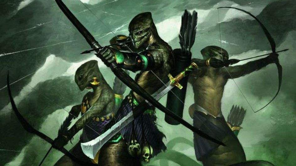 Xiphonan (Serpentfolk)   New Monster for Dungeons & Dragons Fifth Edition