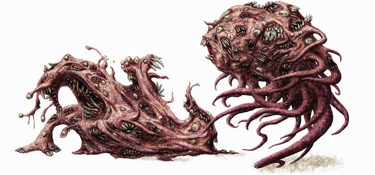 Chaos Beast | New Monster for Dungeons & Dragons Fifth Edition