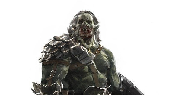 Khrull, Half-Orc Death Cleric | NPC for Dungeons & Dragons Fifth Edition (Spoilers)