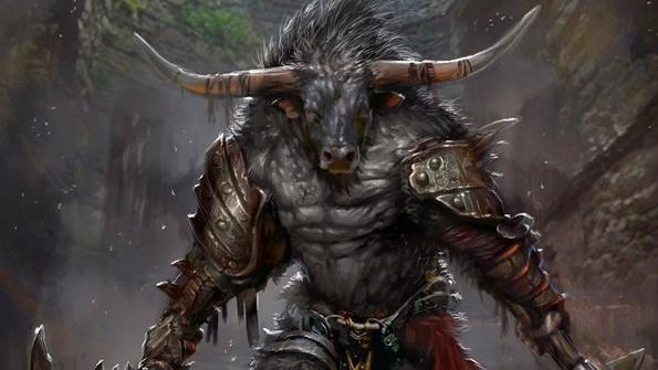 Torax, Minotaur Barbarian | NPC for Dungeons & Dragons Fifth Edition