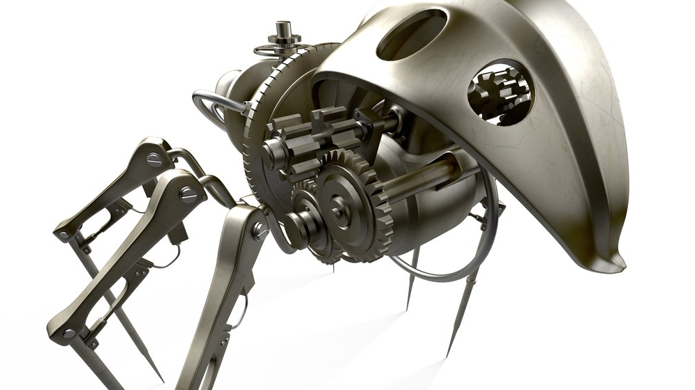 Metal Spider | New Vehicle for Dungeons & Dragons Fifth Edition