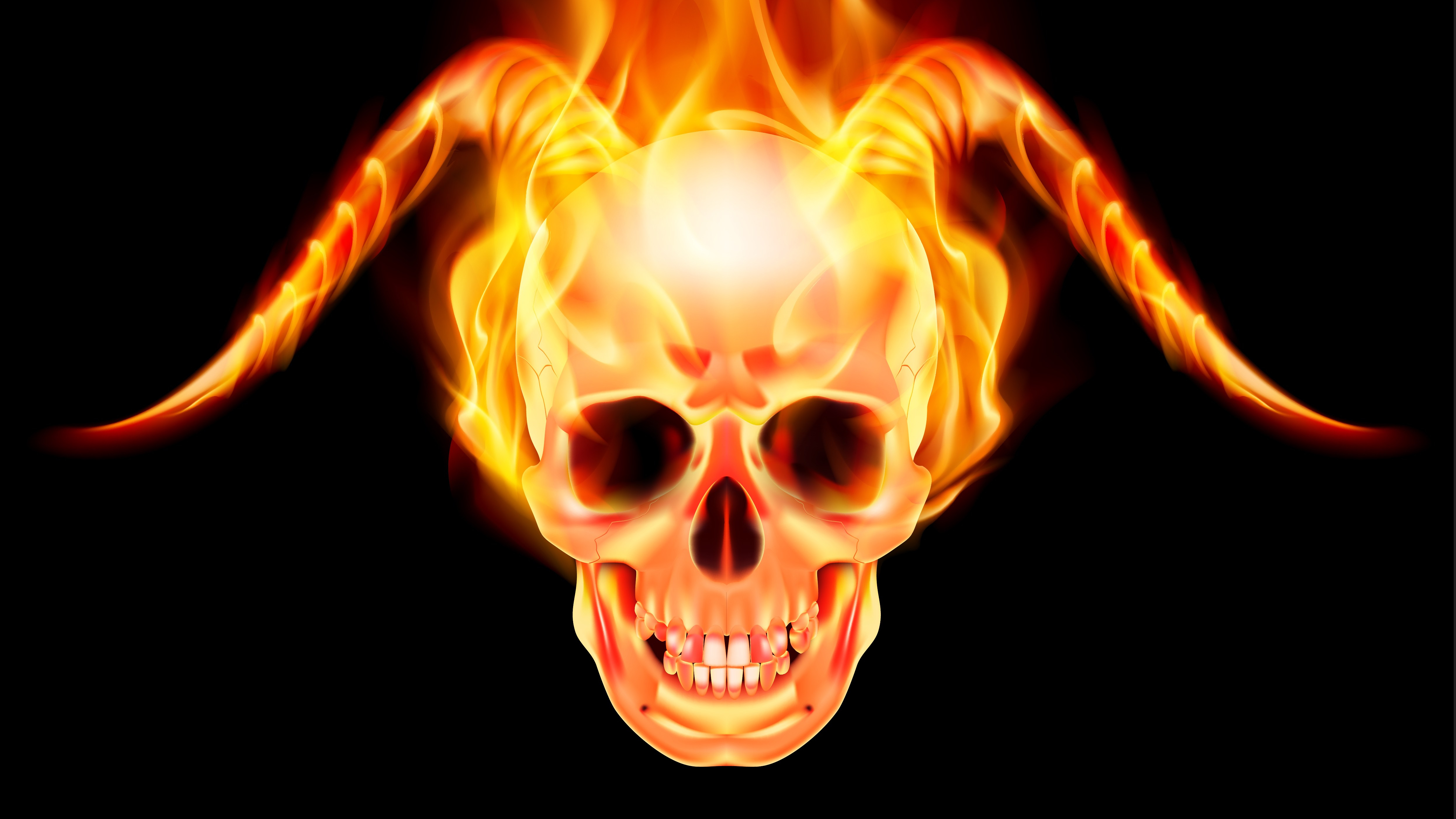 Fiendish Flameskull | New Monster for Dungeons & Dragons Fifth Edition