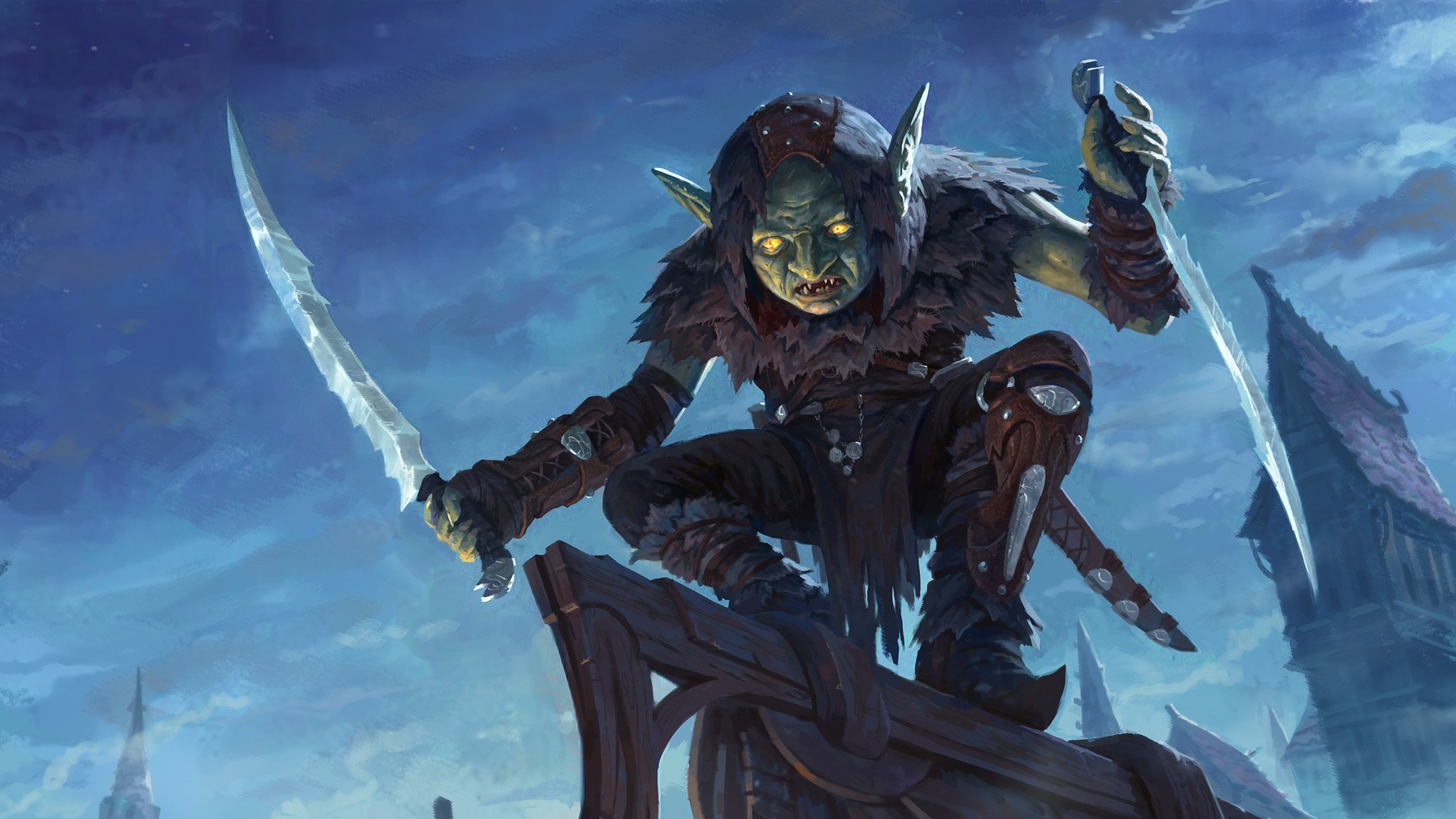 Oir the Goblin Assassin | NPC for Dungeons & Dragons Fifth Edition
