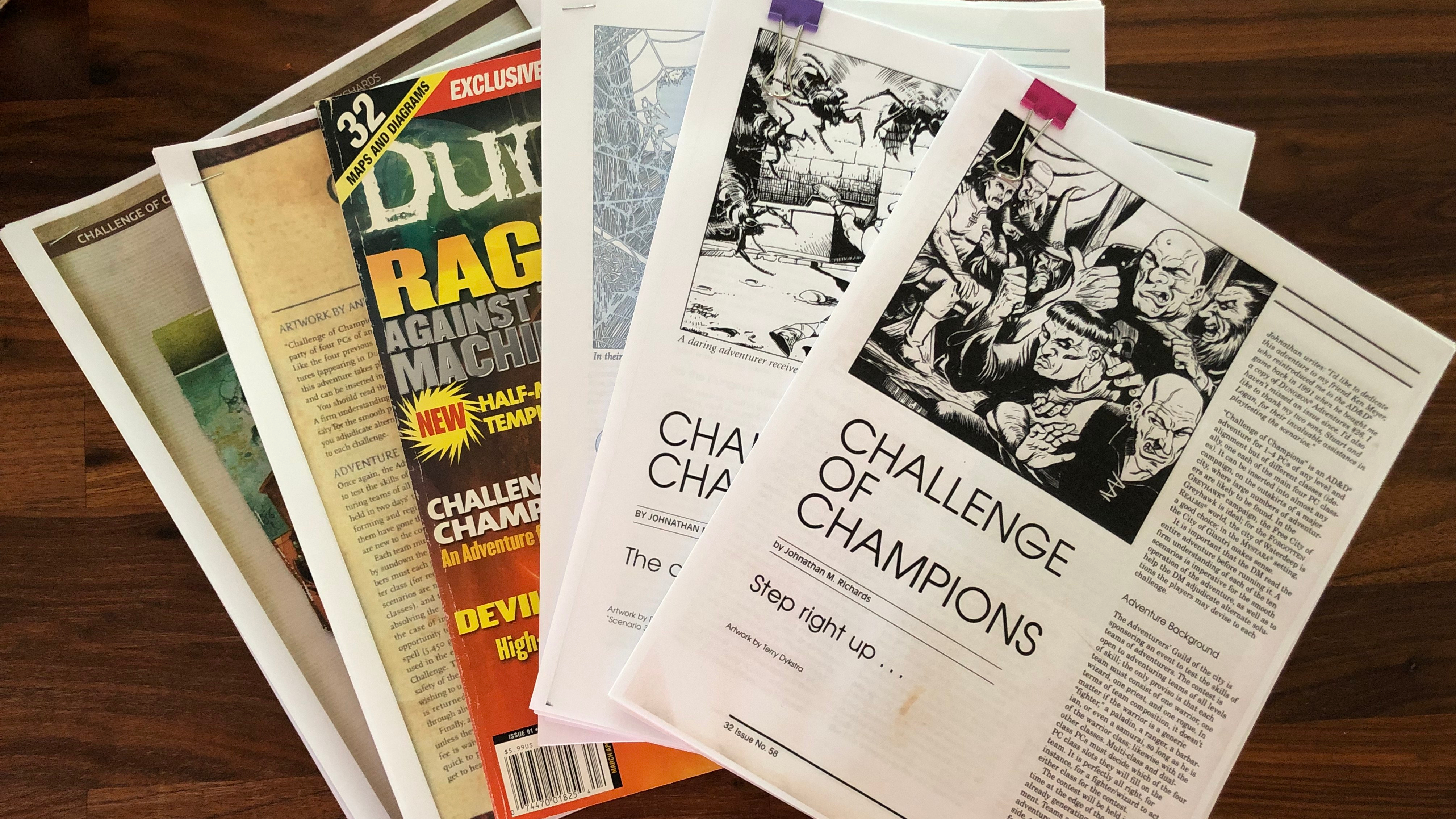 How to Create Level-Independent Challenges (a la Challenge of Champions) | DMDave Workshop