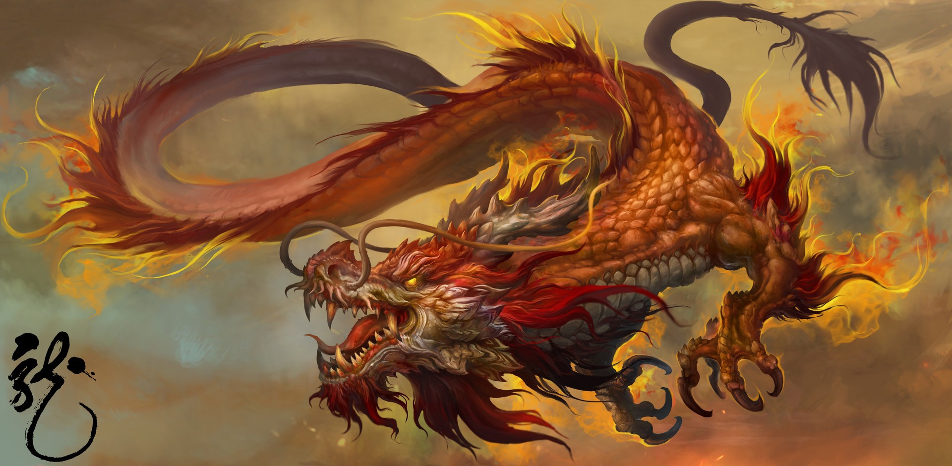 Chinese Dragon | New Monster for Fifth Edition