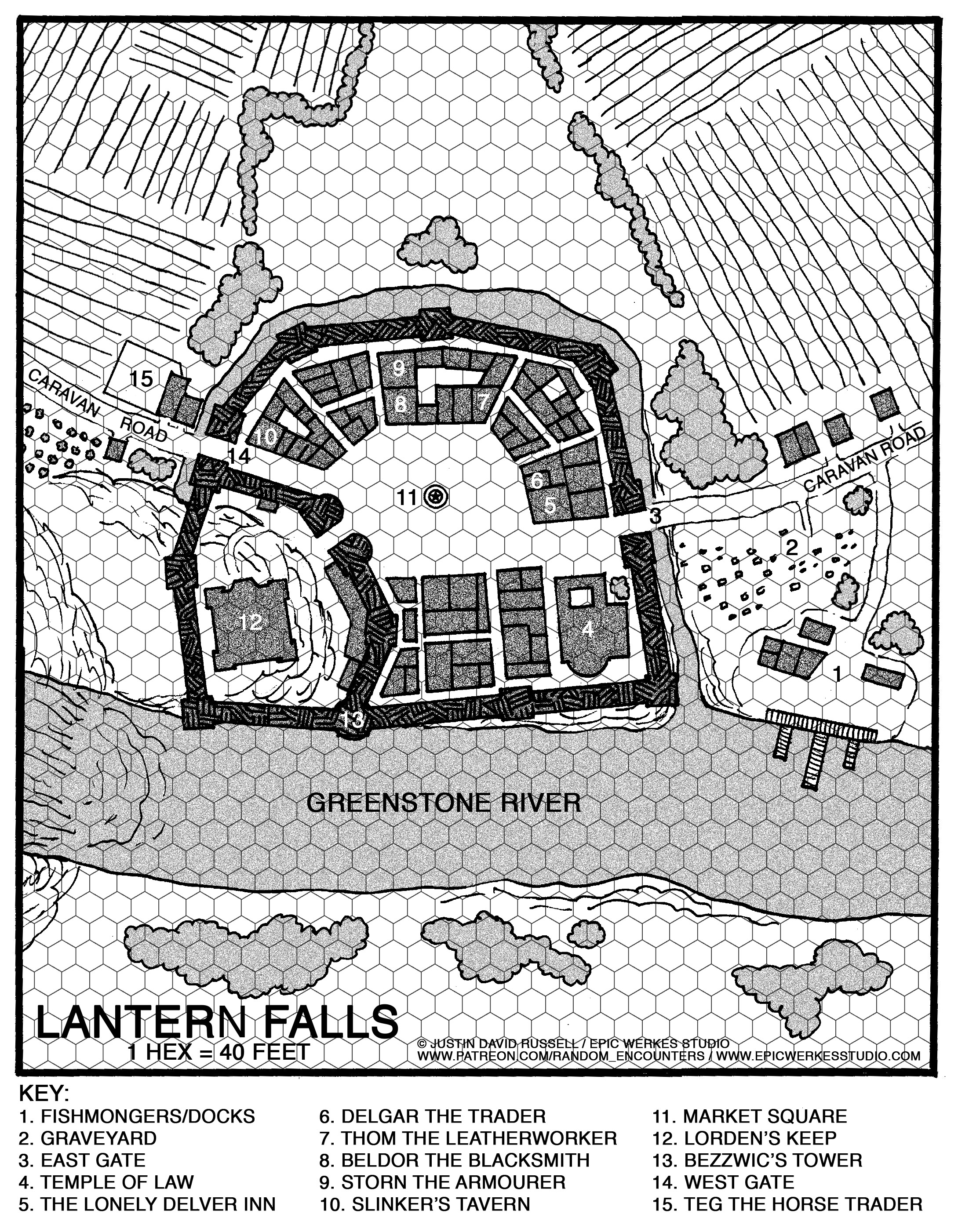 Welcome to Lantern Falls | New Adventure for Dungeons and Dragons Fifth Edition