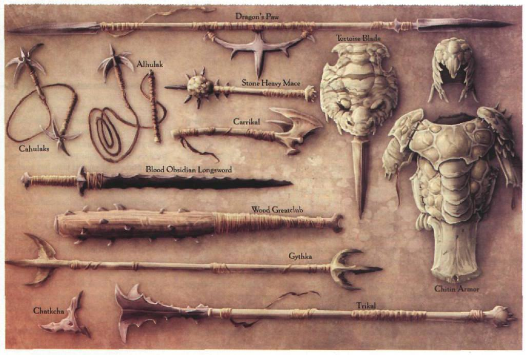 Equipment and Currency in Athas (Dark Sun) | Player Guide for Fifth Edition