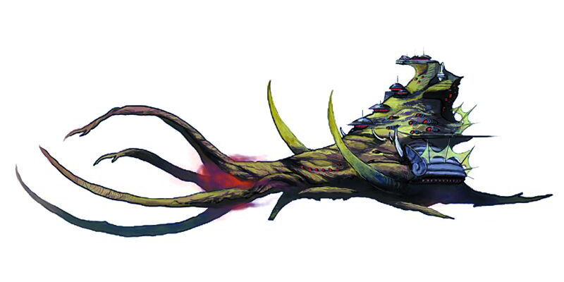 Mindflayer Dreadnaught Carrier and Boreworms | 2 New Ships for Fifth Edition