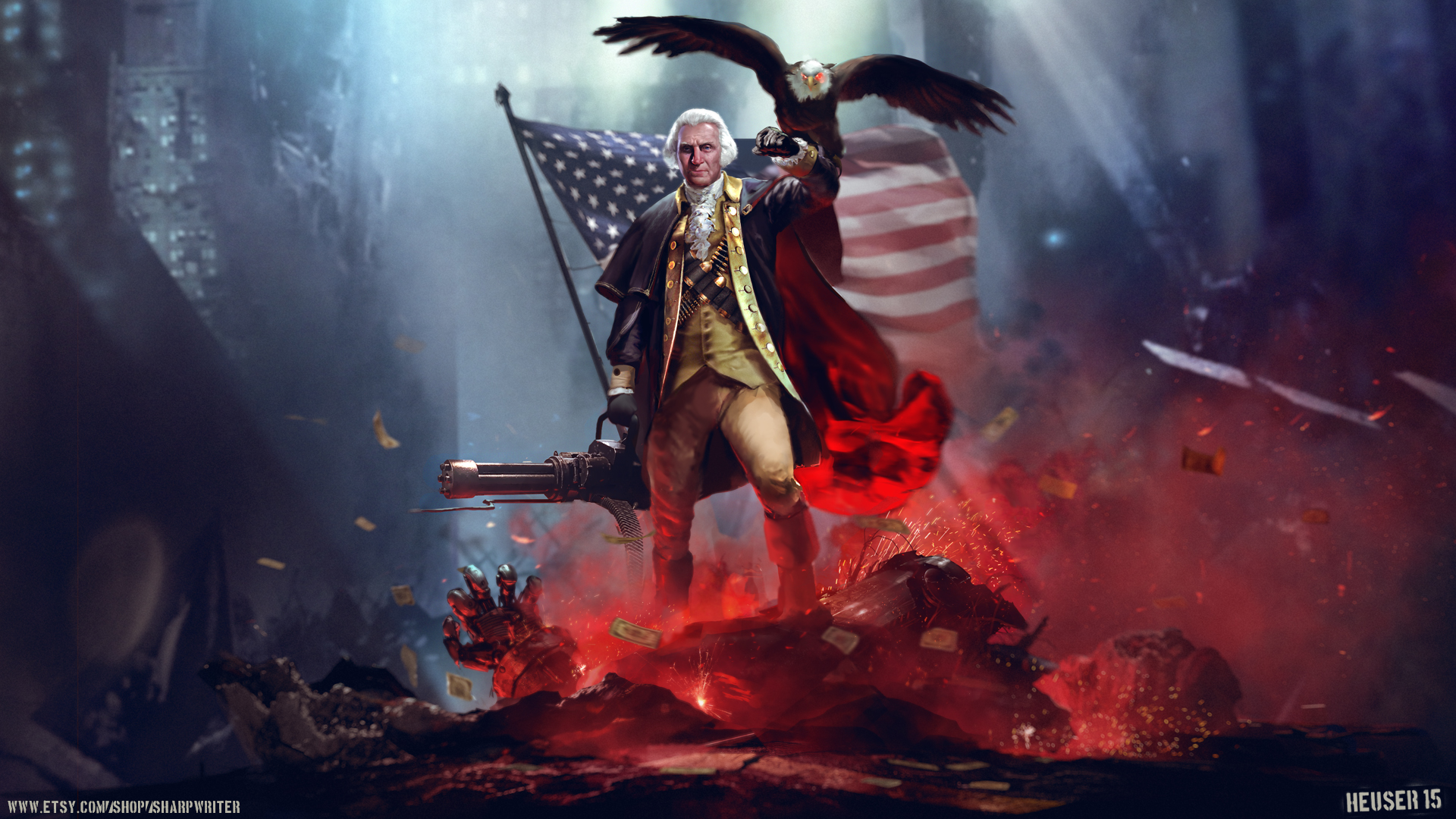 George F***ing Washington | New Challenge for Fifth Edition