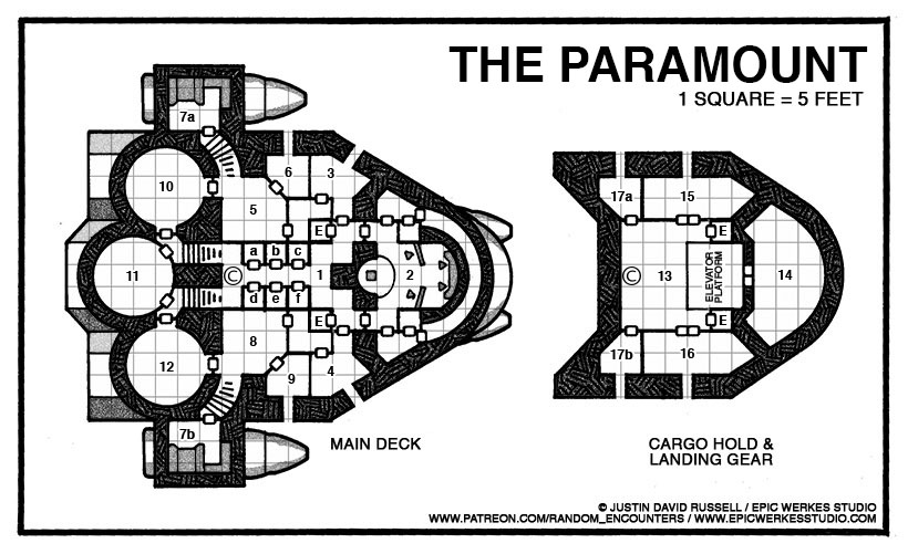 The Paramount Russell-Class Science Vessel | New Ship for Fifth Edition (BroadSword Preview)