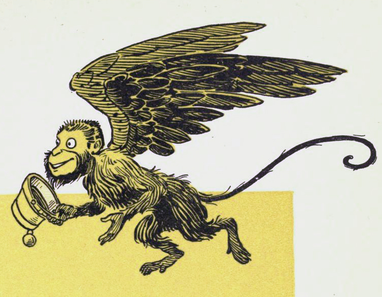 Winged Monkeys   New Monster for Fifth Edition