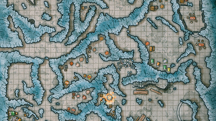 Tips for Running Large Dungeons with Complex Maps in D&D | The DM Lair [video]