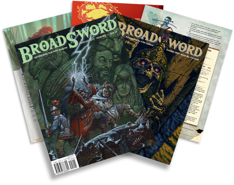 Get PDFs and BroadSword Monthly in PDF and physical format.