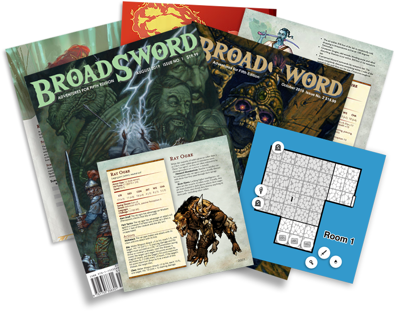 Get daily PDFs, BroadSword Monthly in physical and PDF format, plus monthly swag boxes.