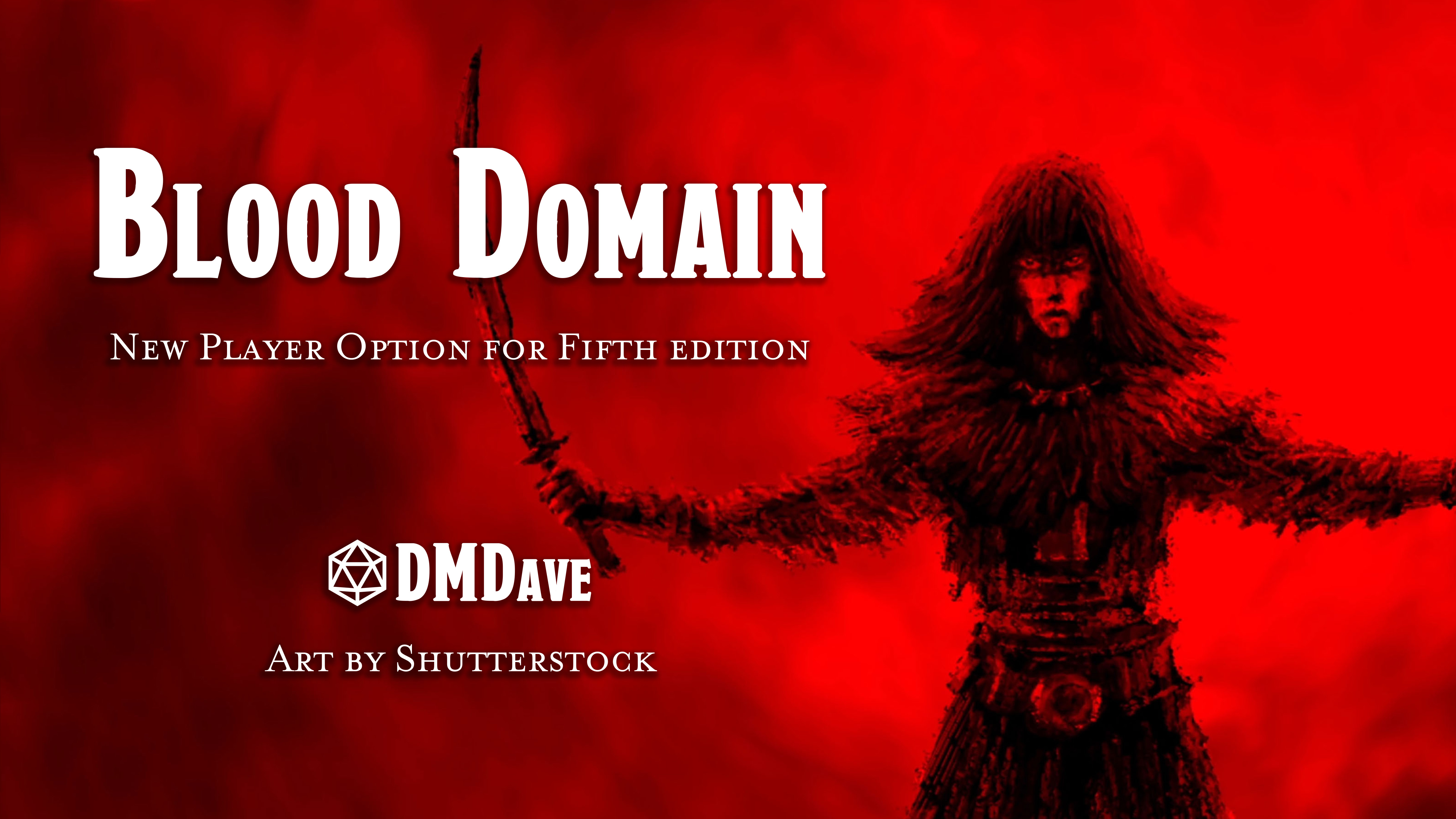 Blood Domain | New Player Option for Fifth Edition