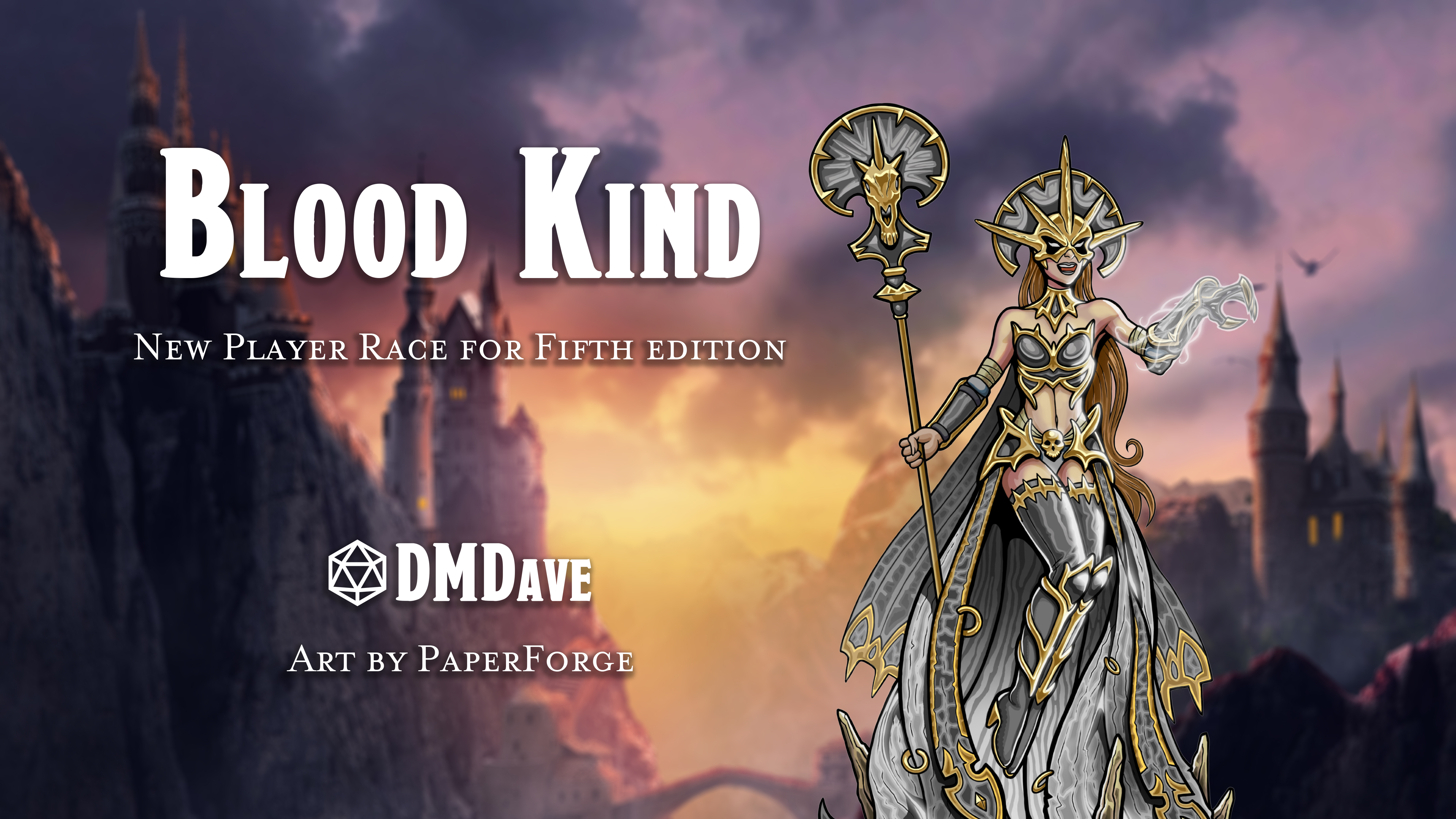 Blood Kind | New Player Race Option for Fifth Edition