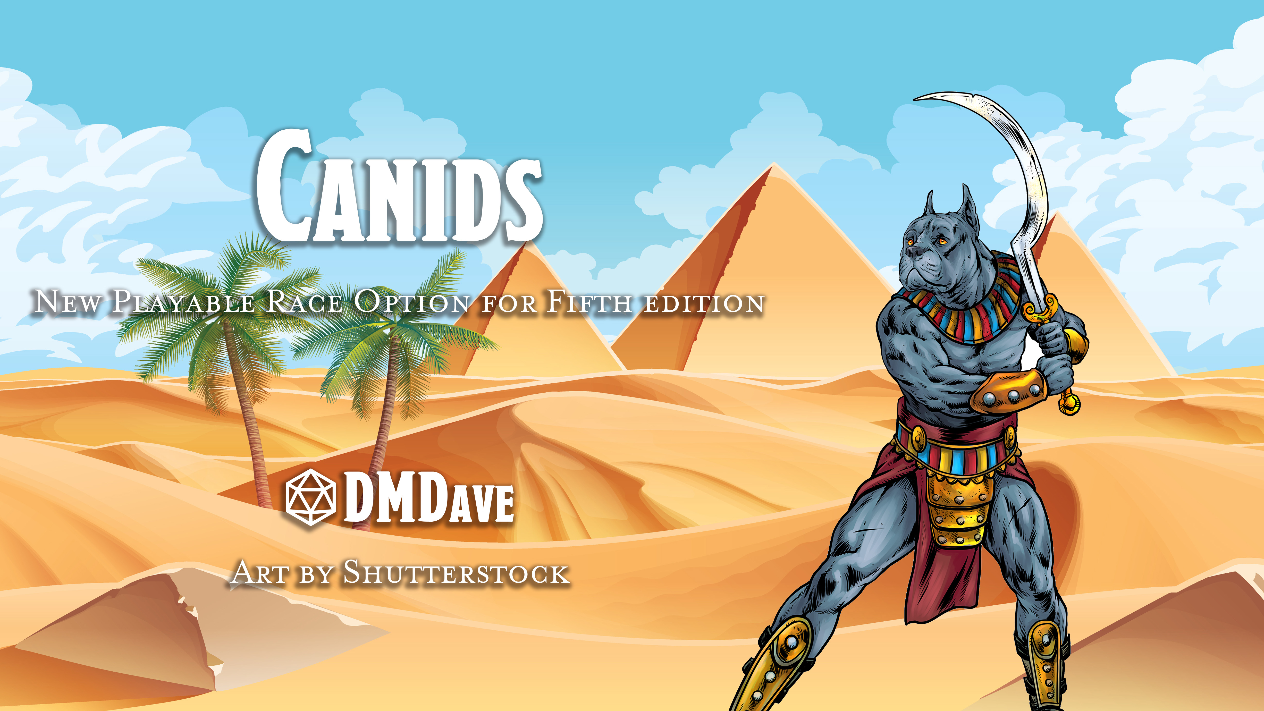 Canids | New Race for Fifth Edition