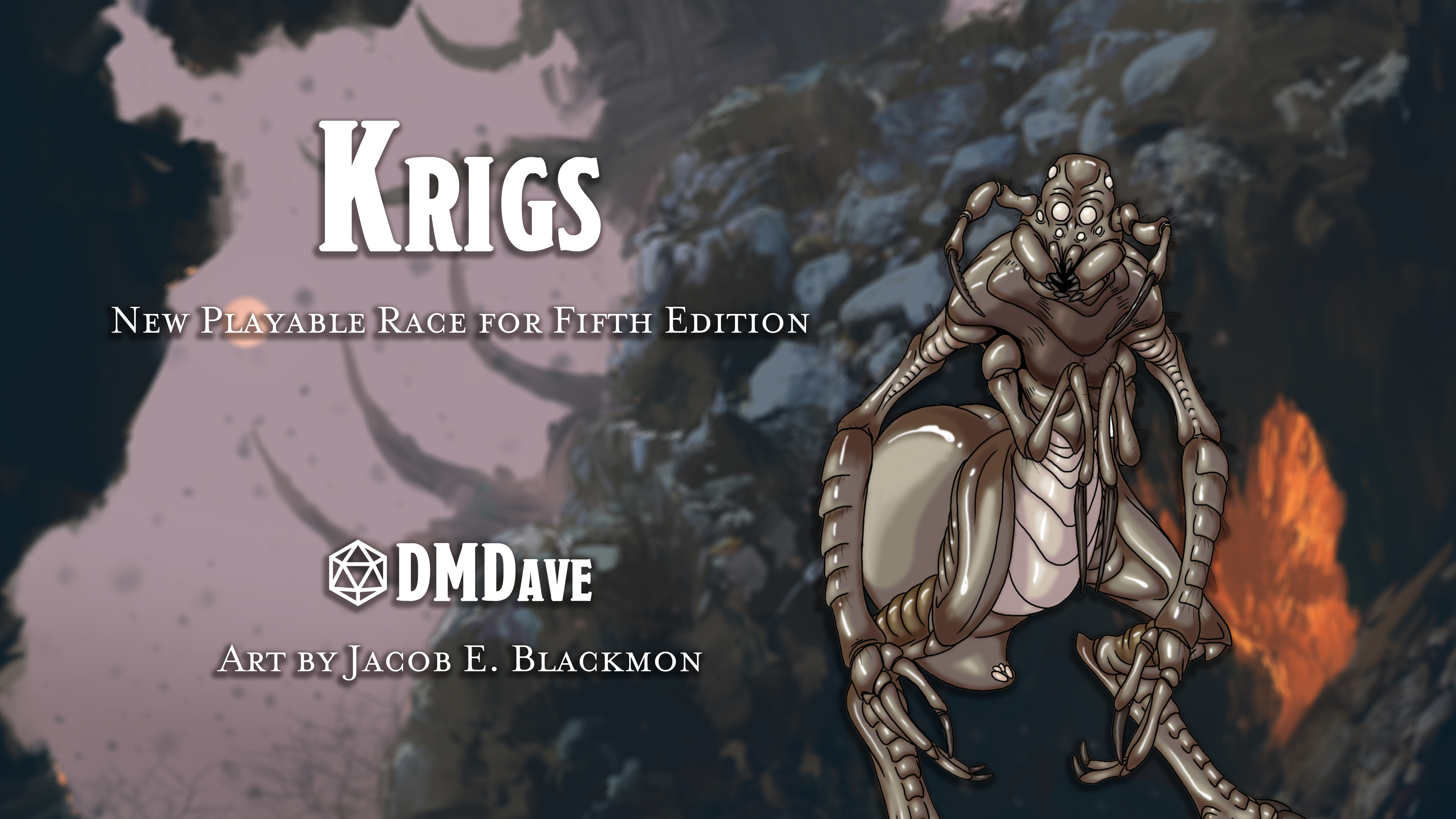 Krigs | New Playable Race for Fifth Edition
