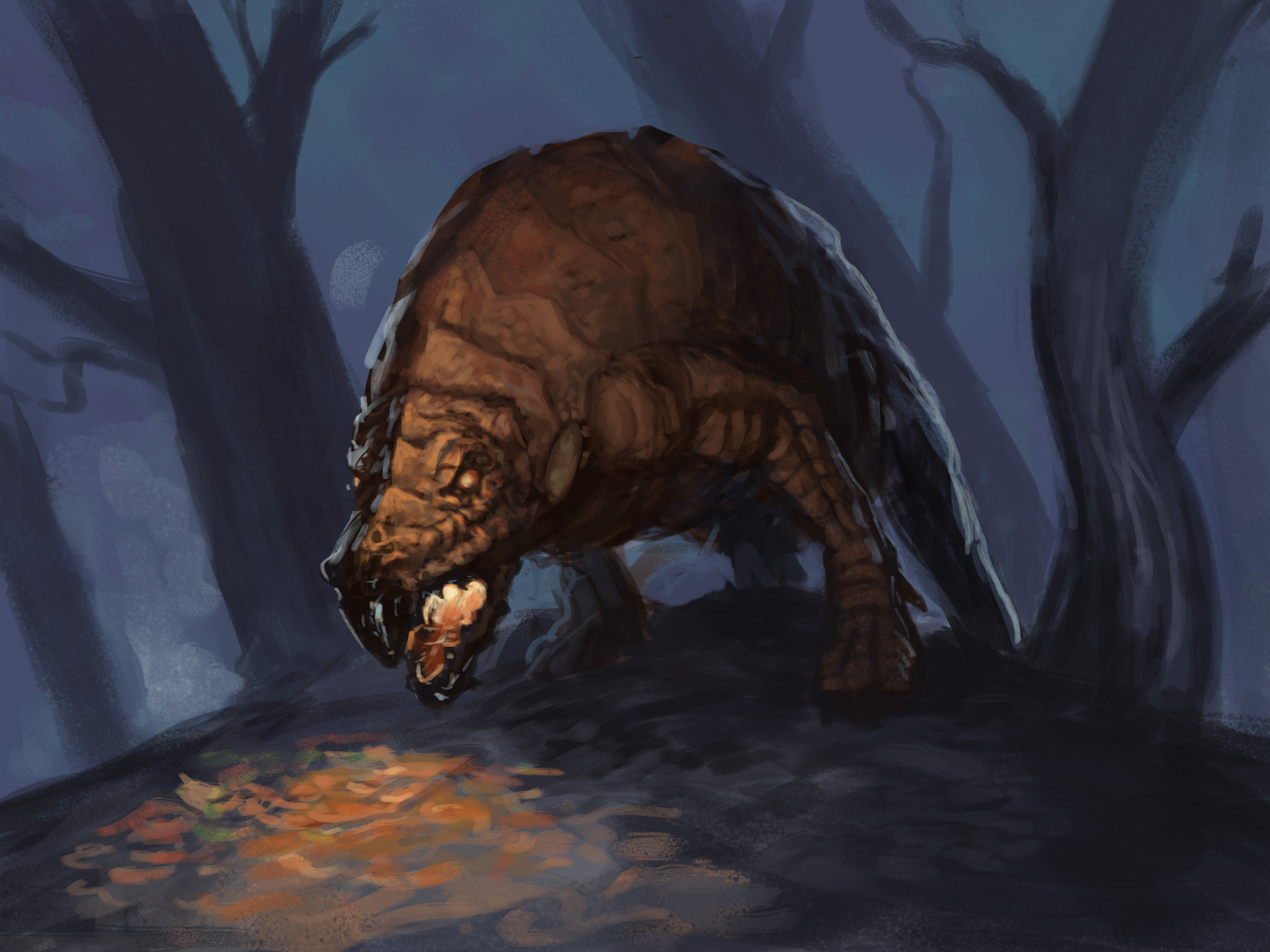 Krigs and Red-Striped Thornfoots | New Monsters for Fifth Edition