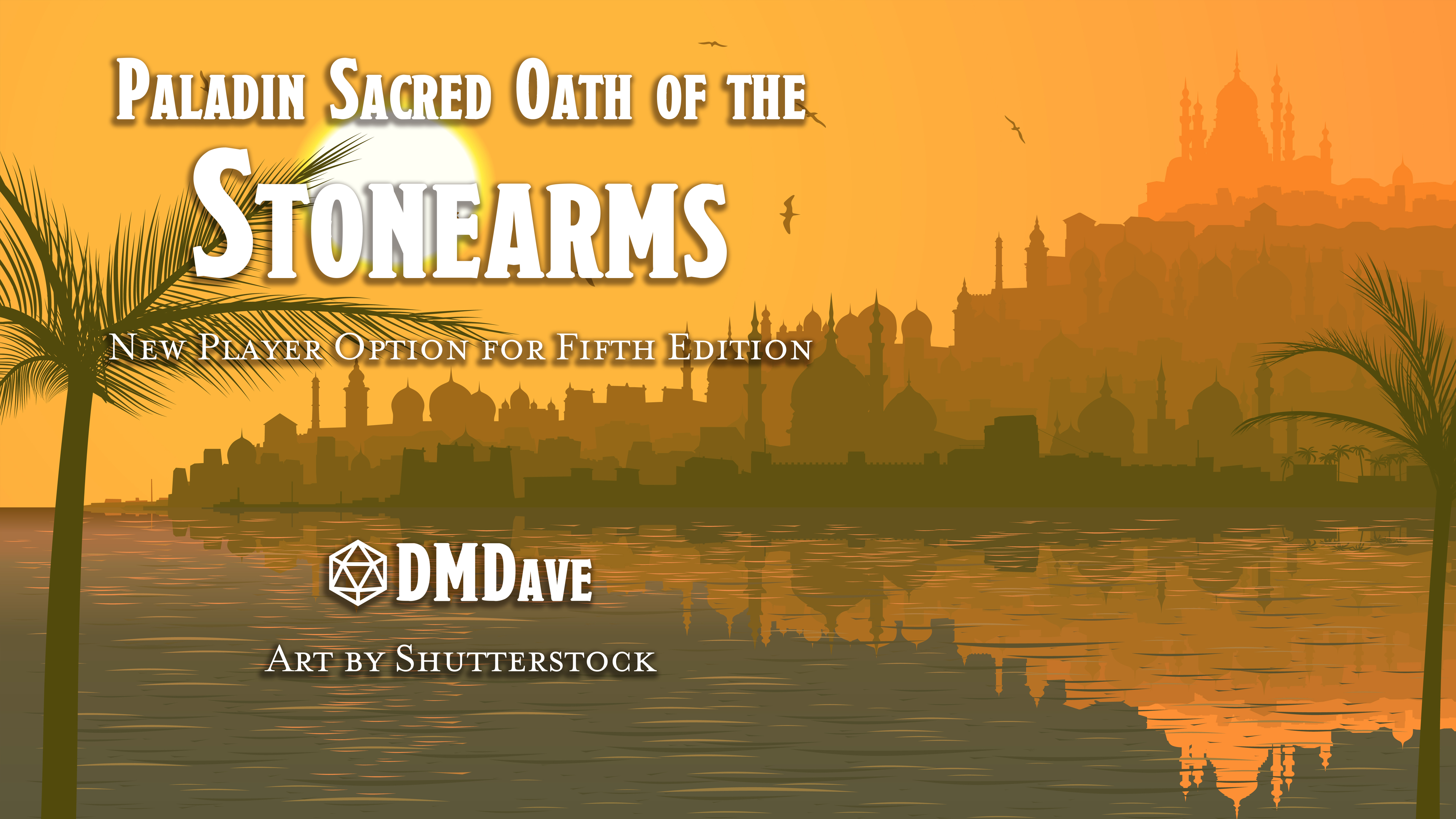 Oath of the Stonearm | New Subclass for Fifth Edition