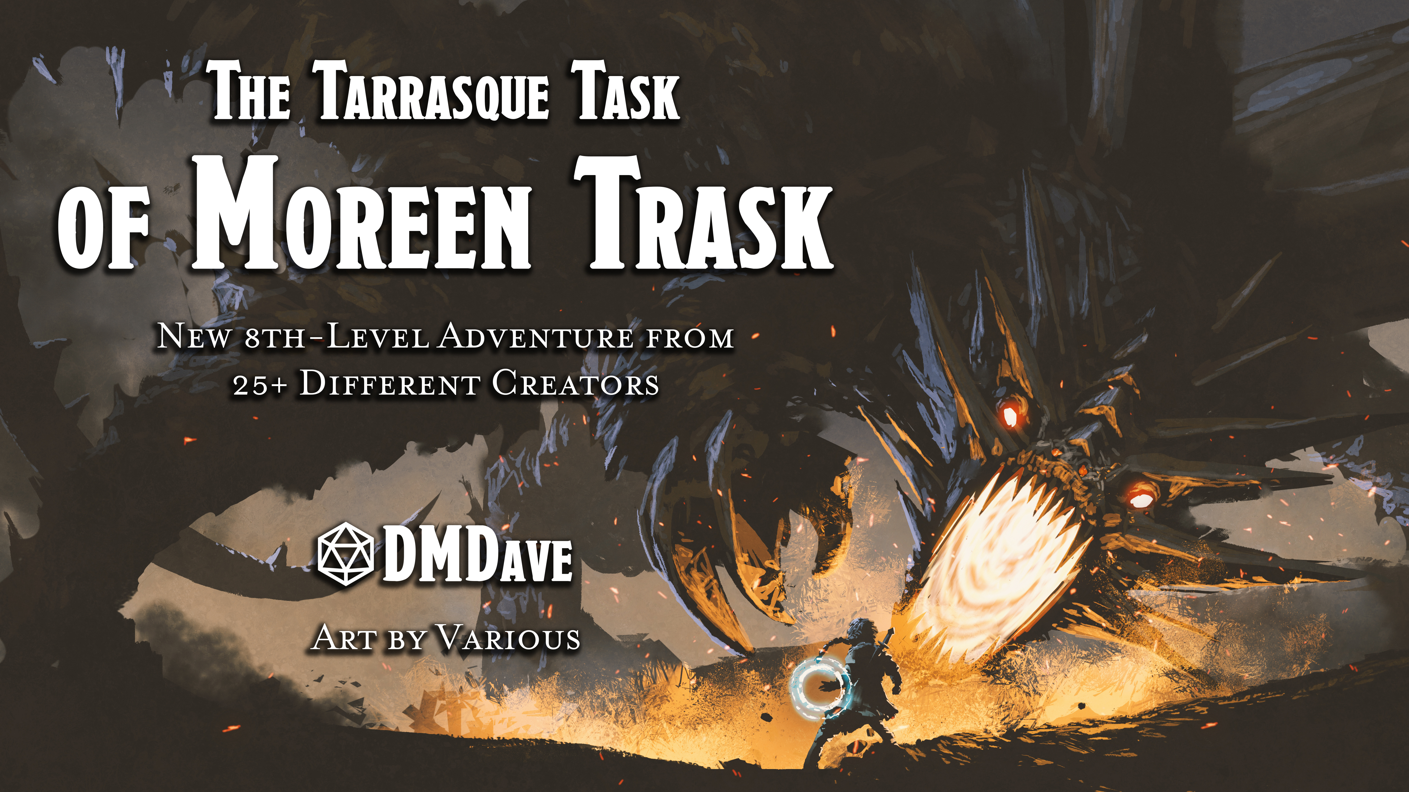 The Tarrasque Task of Moreen Trask | New 8th-Level Adventure for Fifth Edition