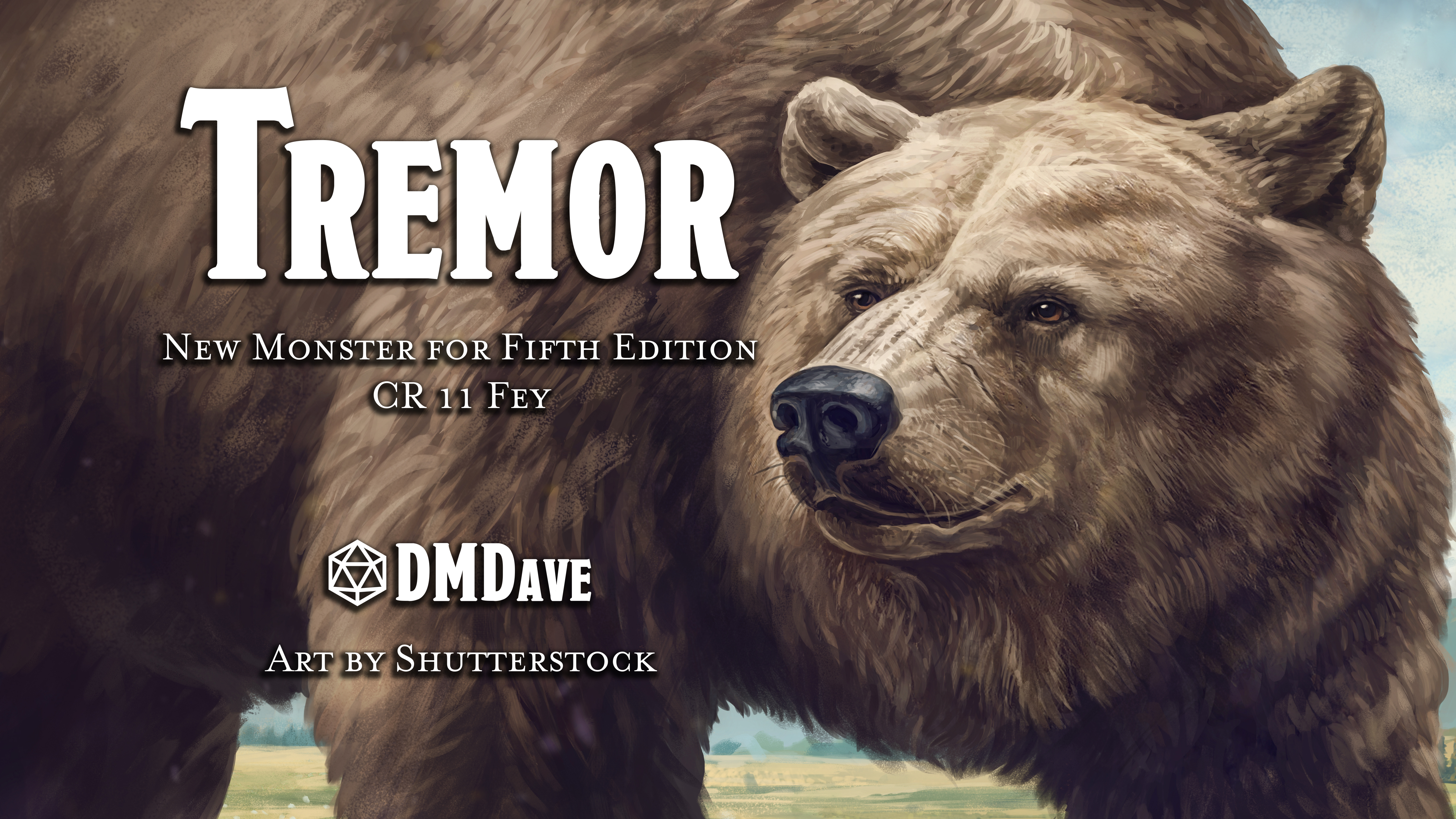 Tremor | New Monster for Fifth Edition