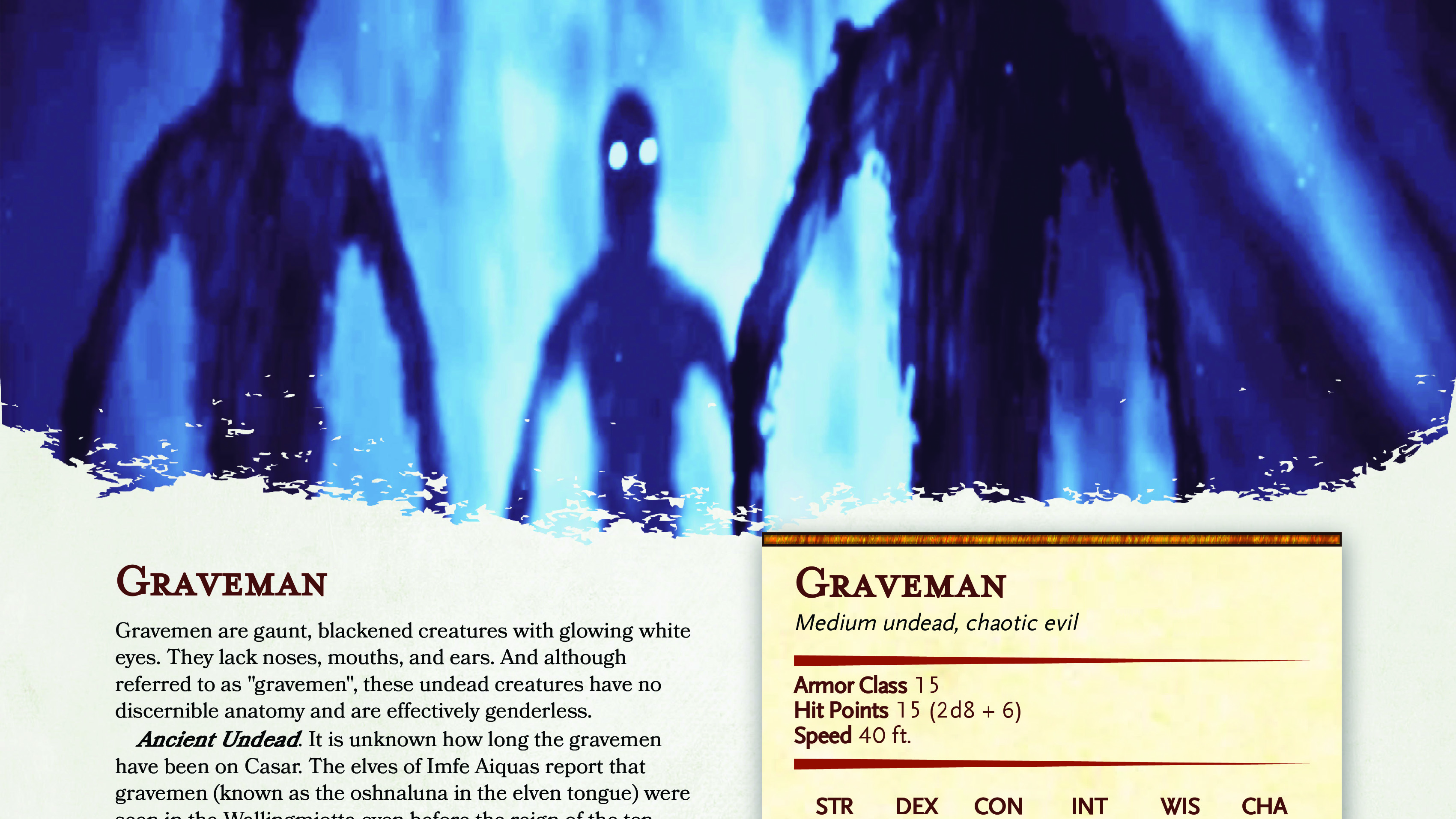 Graveman | New Monster for Fifth Edition