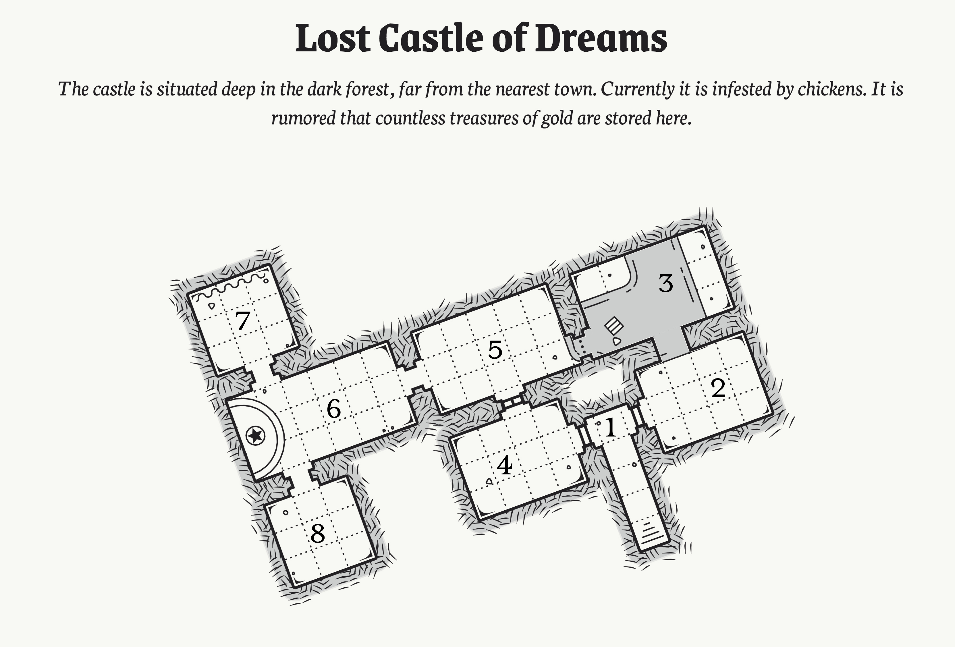 Lost Castle of Dreams | 9th-Level Adventure for Fifth Edition