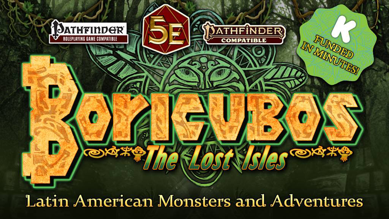 Latin American Monsters | A Quick Chat with Jason of Legendary Games