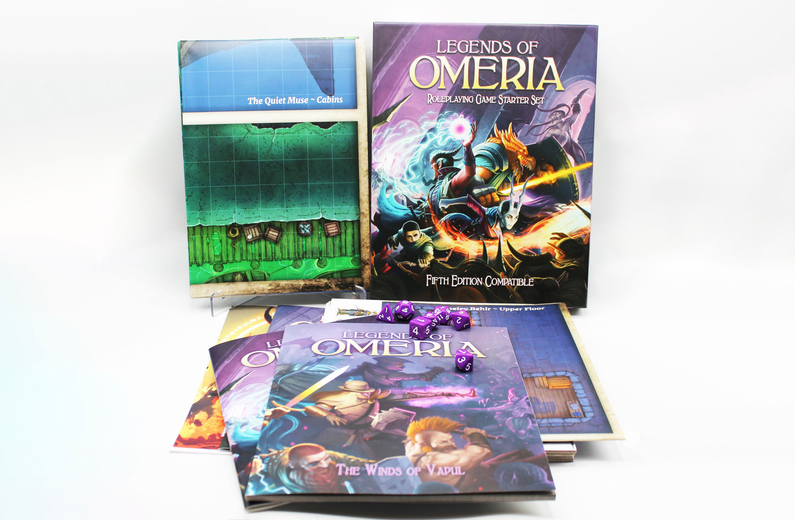 Legends of Omeria Unboxing Video
